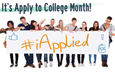 November is Apply to College Month